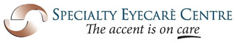 Specialty Eyecare Centre The Accent is On Care Logo